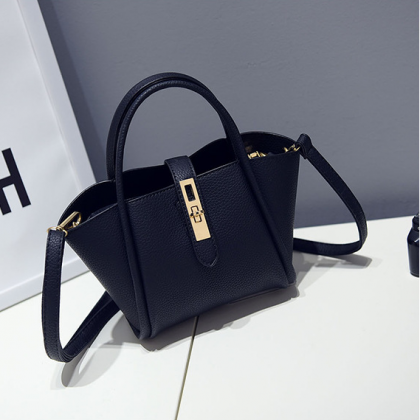 Pu leather women's single shoulder ..
