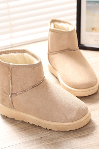 Winter new female ugg boots boots thickening and wool warm female cotton shoes